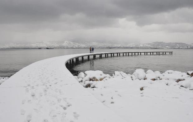 Türkiye'den kar manzaraları 16