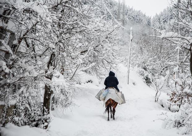 Türkiye'den kar manzaraları 4