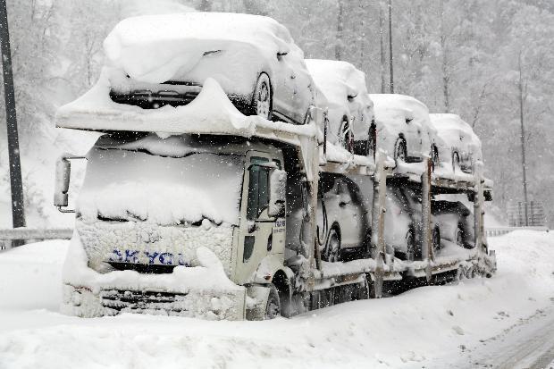 Türkiye'den kar manzaraları 7