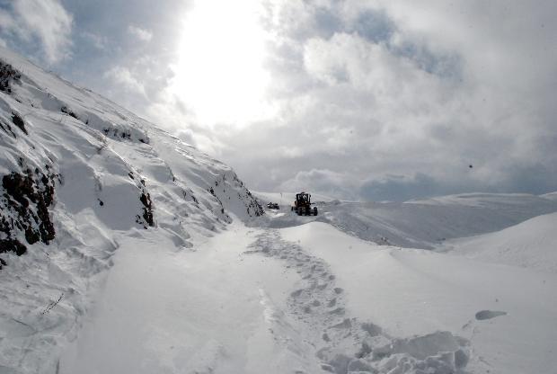 Türkiye'den kar manzaraları 8