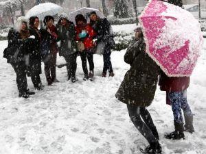 Türkiye'den kar manzaraları