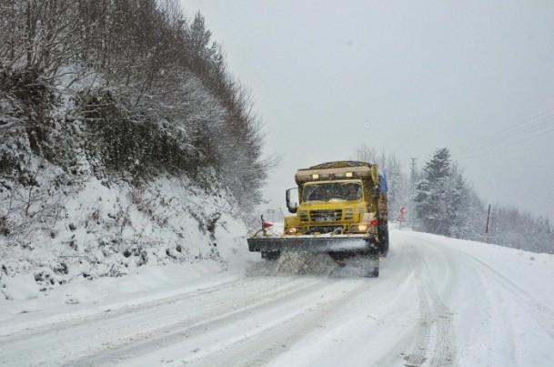Yurtta kar yağışı ve soğuk etkili oluyor 4