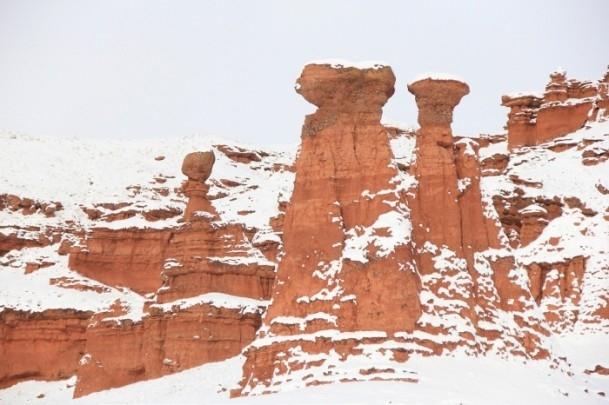 Yurtta kar yağışı ve soğuk etkili oluyor 5