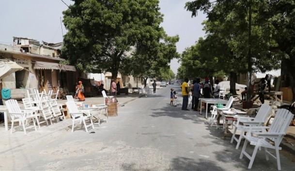 Dakar'ın sokak mobilyacıları 3