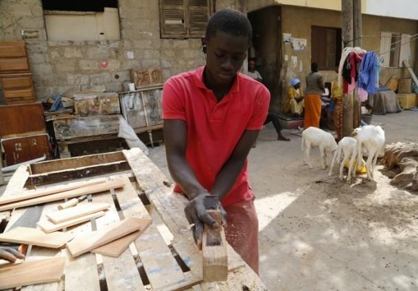 Dakar'ın sokak mobilyacıları 4