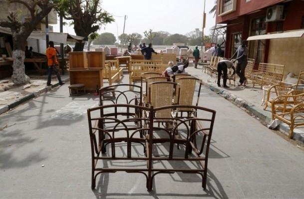 Dakar'ın sokak mobilyacıları 5