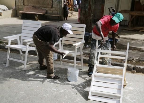 Dakar'ın sokak mobilyacıları 6