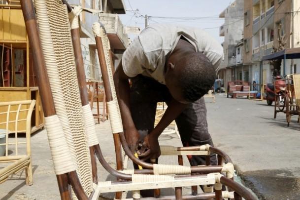 Dakar'ın sokak mobilyacıları 8