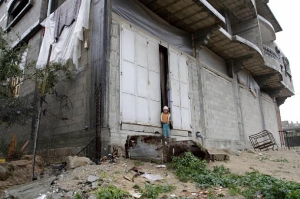 Refah kentinde sağanak 10