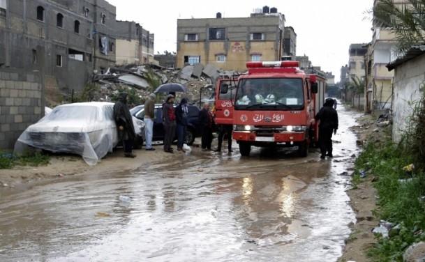 Refah kentinde sağanak 2