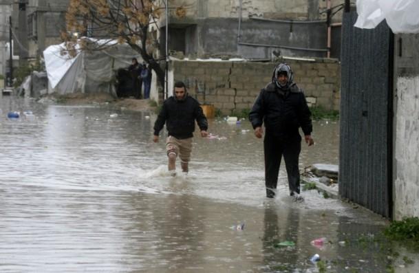 Refah kentinde sağanak 4