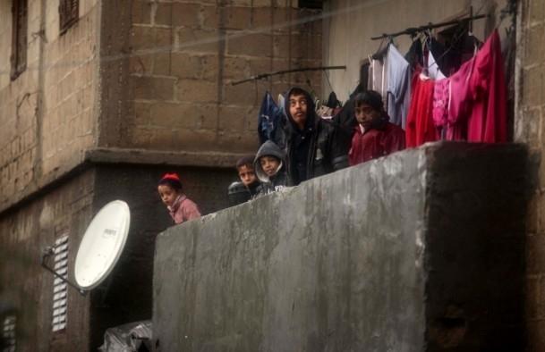 Refah kentinde sağanak 7