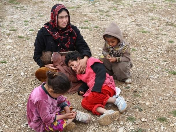 Iraklı sığınmacıların soğukla mücadelesi 2