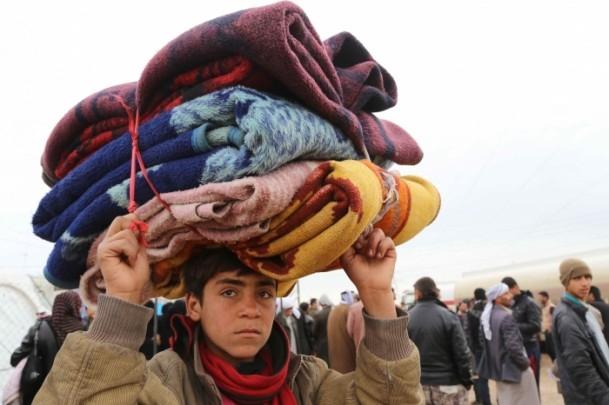 Iraklı sığınmacıların soğukla mücadelesi 3