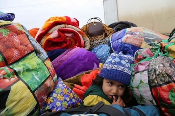 Iraklı sığınmacıların soğukla mücadelesi 4