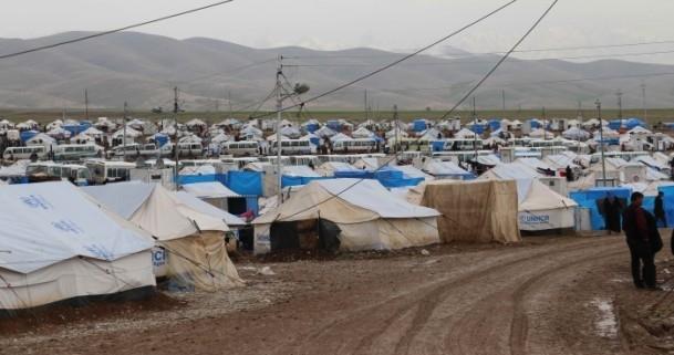 Iraklı sığınmacıların soğukla mücadelesi 5
