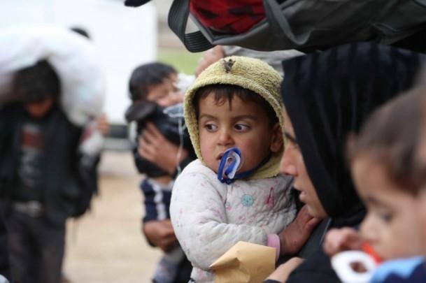 Iraklı sığınmacıların soğukla mücadelesi 6