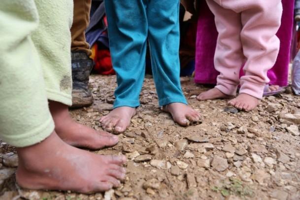 Iraklı sığınmacıların soğukla mücadelesi 7