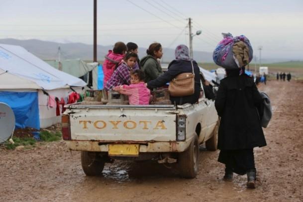 Iraklı sığınmacıların soğukla mücadelesi 9