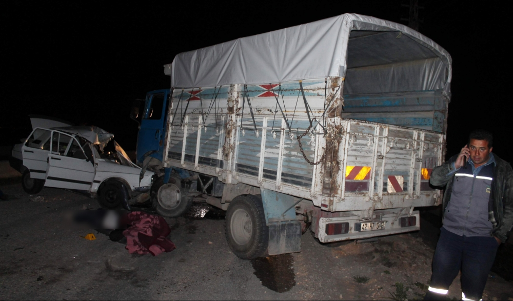 Konya'da trafik kazası 5 ölü, 4 yaralı 2