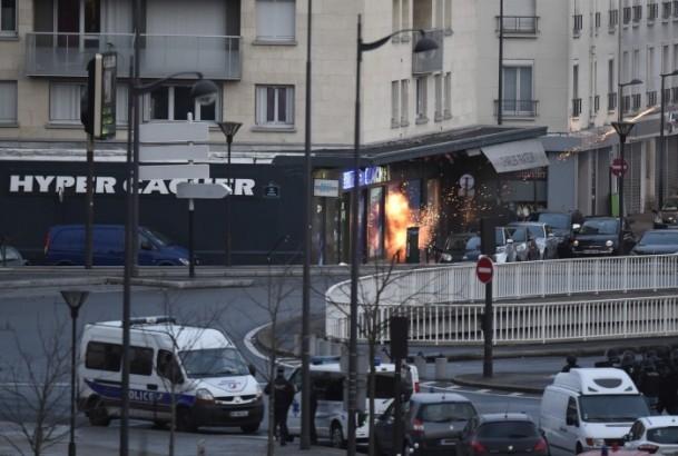 Paris saldırganları öldürüldü 2
