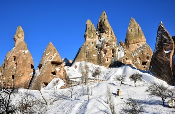 Kapadokya'nın zirvesi, kışın bir başka güzel 10