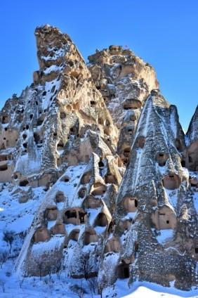 Kapadokya'nın zirvesi, kışın bir başka güzel 2