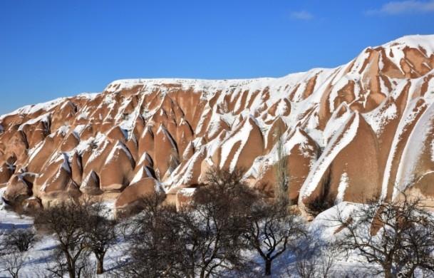 Kapadokya'nın zirvesi, kışın bir başka güzel 3