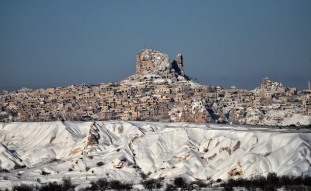 Kapadokya'nın zirvesi, kışın bir başka güzel 4