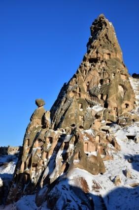 Kapadokya'nın zirvesi, kışın bir başka güzel 5
