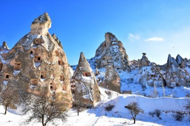 Kapadokya'nın zirvesi, kışın bir başka güzel 6