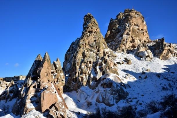 Kapadokya'nın zirvesi, kışın bir başka güzel 7