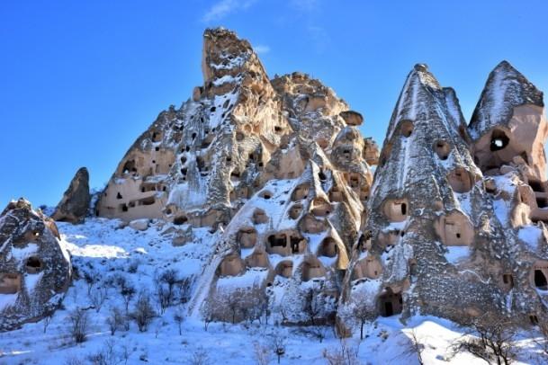 Kapadokya'nın zirvesi, kışın bir başka güzel 8