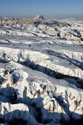 Kapadokya'nın zirvesi, kışın bir başka güzel 9