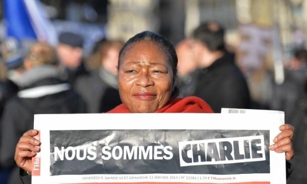 Paris'te Cumhuriyet Yürüyüşü 4