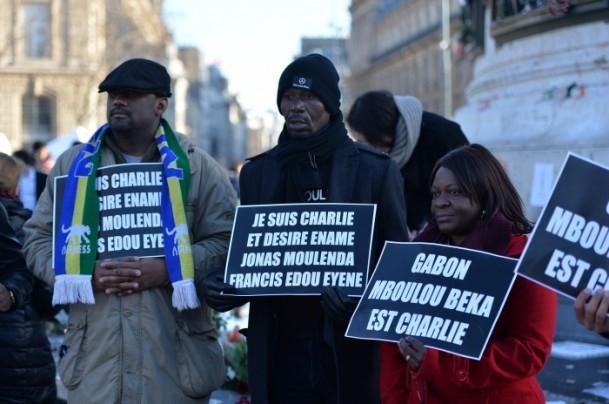 Paris'te Cumhuriyet Yürüyüşü 5