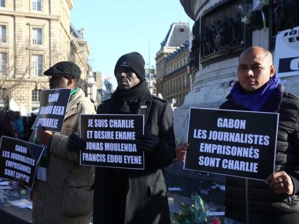 Paris'te Cumhuriyet Yürüyüşü 1
