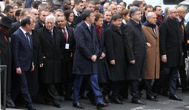 Paris'te Cumhuriyet Yürüyüşü 17