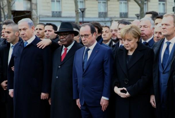 Paris'te Cumhuriyet Yürüyüşü 20