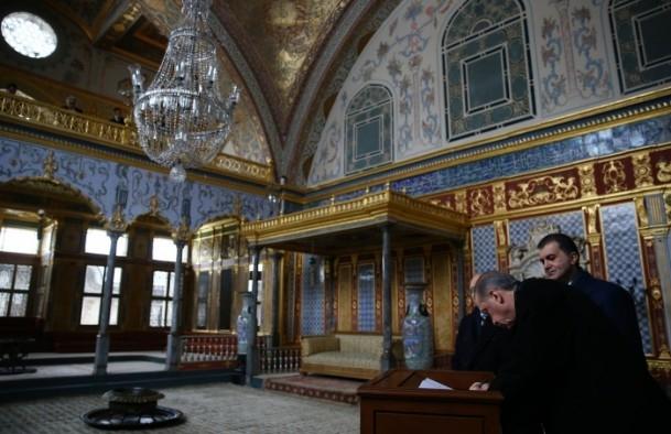 Cumhurbaşkanı Erdoğan Topkapı Müzesi'ndeki açılışa katıldı 2