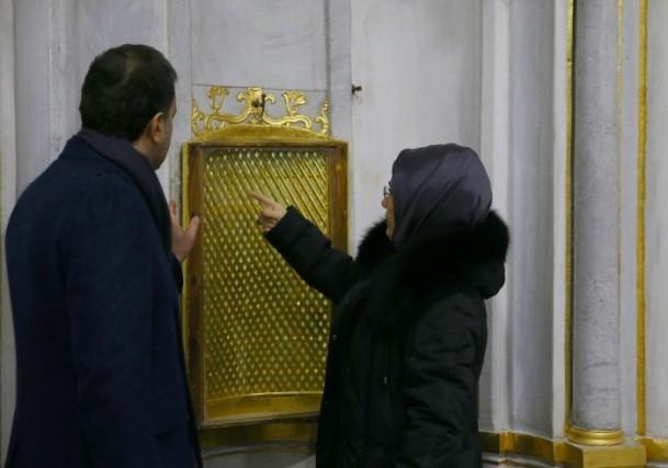 Cumhurbaşkanı Erdoğan Topkapı Müzesi'ndeki açılışa katıldı 3