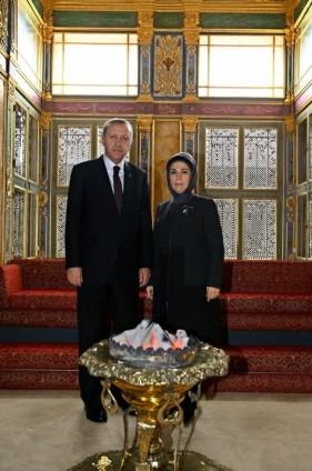 Cumhurbaşkanı Erdoğan Topkapı Müzesi'ndeki açılışa katıldı 6