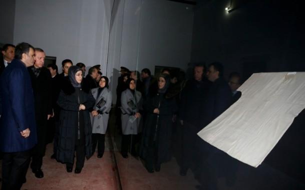 Cumhurbaşkanı Erdoğan Topkapı Müzesi'ndeki açılışa katıldı 9