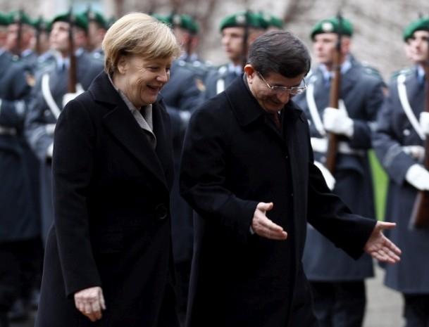 Başbakan Ahmet Davutoğlu Almanya'da 1