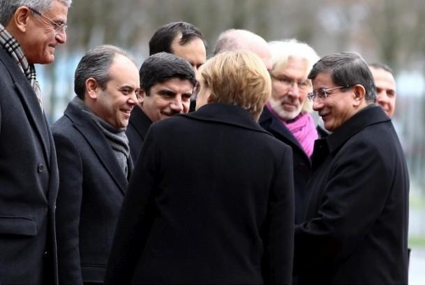 Başbakan Ahmet Davutoğlu Almanya'da 2