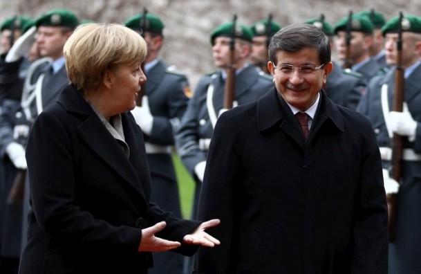 Başbakan Ahmet Davutoğlu Almanya'da 3