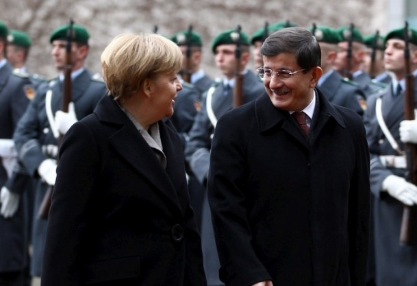 Başbakan Ahmet Davutoğlu Almanya'da 4