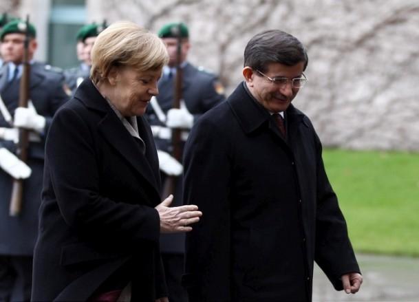 Başbakan Ahmet Davutoğlu Almanya'da 5