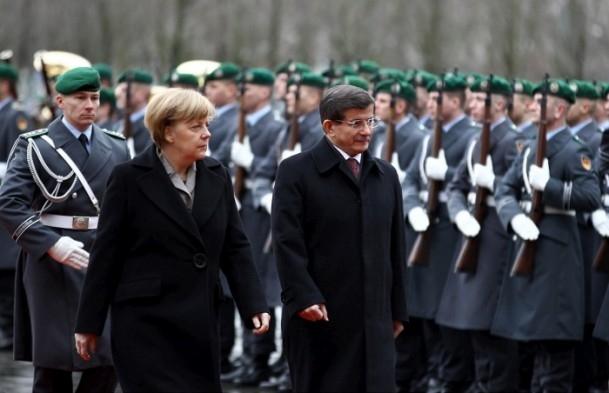 Başbakan Ahmet Davutoğlu Almanya'da 6