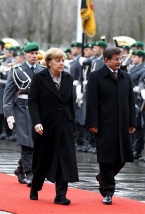 Başbakan Ahmet Davutoğlu Almanya'da 7